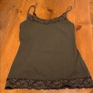 Women's Apt 9 brown tank top